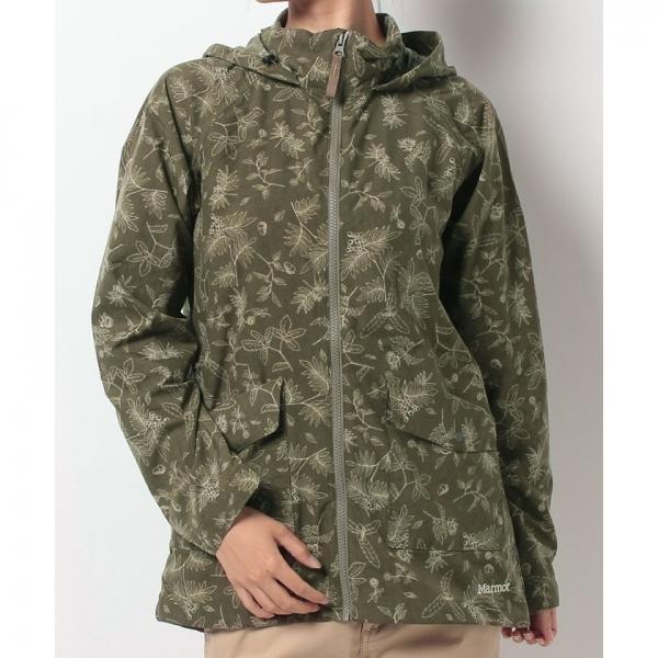 【SALE】Marmot(マーモット)W's Country Land Flower Jacket/ウィメンズカントリーランドフラワージャケット(17FW)MJJ-F7517W※返品交換不可※