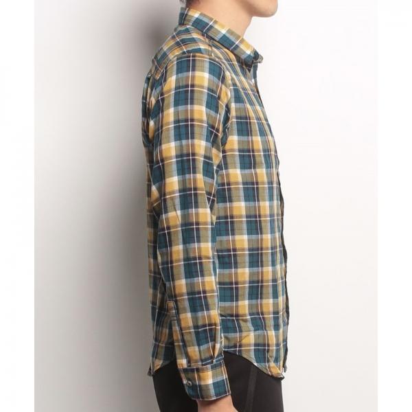【SALE】Marmot(マーモット)Tartan Check Dry L/S Shirt/タータンチェックドライロングスリーブシャツ(17FW)MJS-F7051※返品交換不可※