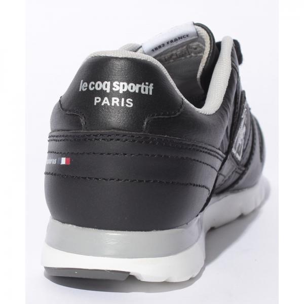【SALE】le coq sportif(ルコックスポルティフ)シューズ:LA セーヌ LE(17FW)QFM-7313BK※返品交換不可※