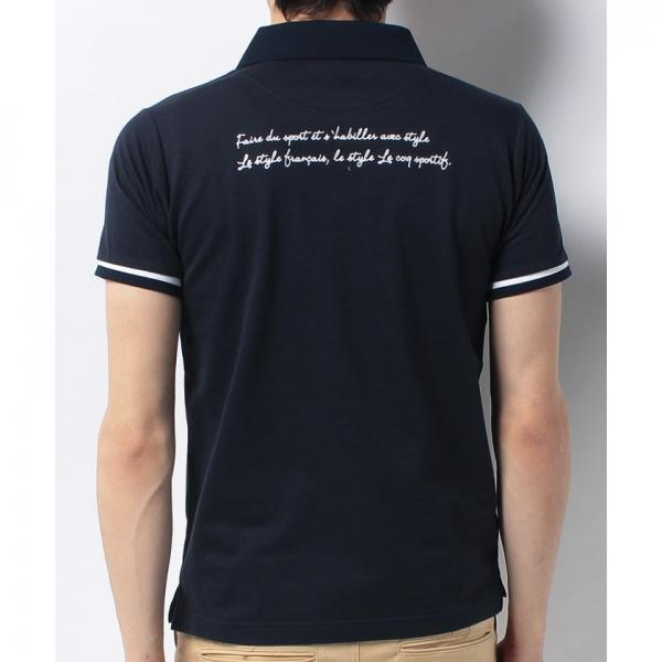 le coq GOLF(ルコックゴルフ)「TRICO club.」半袖シャツ(17FW)QG1504
