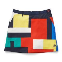 10%OFFクーポン対象商品 【SALE】le coq GOLF(ルコックゴルフ)渋谷アートプリントスカート(20SS)[Women]QGWPJE01※返品交換不可※ クーポンコード:YVDDB37