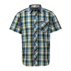 【SALE】Marmot(マーモット)QD Check H/S Shirt / キューディーチェックハーフスリーブシャツ(19SS)TOMNJA76※返品交換不可※