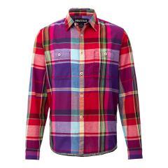 【SALE】Marmot(マーモット)T/C Linen L/S Shirt / ティーシーリネンロングスリーブシャツ(19SS)TOMNJB75※返品交換不可※