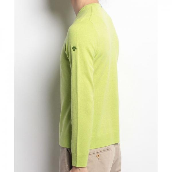【SALE】DESCENTE GOLF(デサントゴルフ)カシミヤセーター(17FW)XDGW2017F※返品交換不可