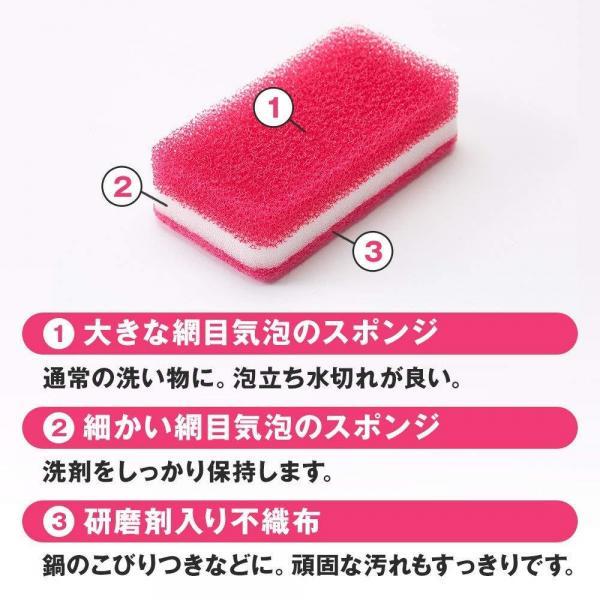 台所用スポンジ抗菌タイプ 6個(カラフルセット) ダスキン スポンジ キッチン