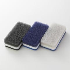 台所用スポンジ 3色セット モノトーンN 抗菌タイプ ダスキン スポンジ キッチン NEWの画像