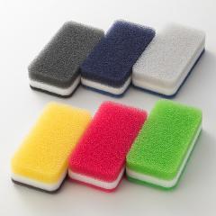 台所用スポンジ抗菌タイプ 6個(新カラフルカラーセット) ダスキン スポンジ キッチンの画像