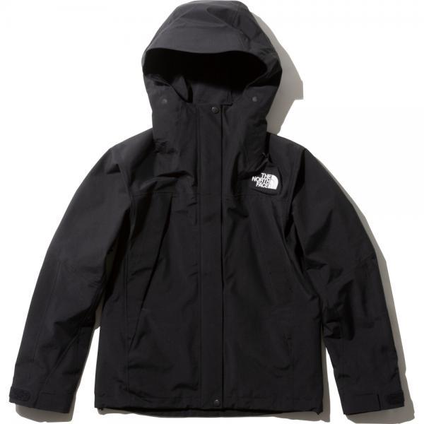 ノースフェイス (THE NORTH FACE) レディース 防水ジャケット マウンテンジャケット Mountain Jacket NPW61800 ブラック(K) S