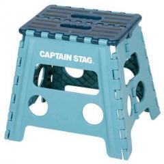 CAPTAIN STAG(キャプテンスタッグ) 折りたためるステップ(ブルー) UW-1502