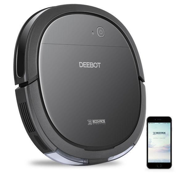 ロボット掃除機 DEEBOT OZMO SLIM 10 薄型モデル 水量調整強力水拭き 自動充電 洗えるダストBOX 【エコバックス公式ストア|国内正規品】