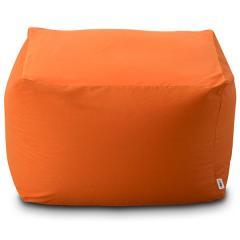 送料無料 ビーズクッション キューブ L+サイズ 日本製 mochimochi マイクロビーズクッション ビーズソファ ソファー プレゼント 洗える オレンジ