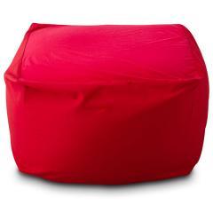 送料無料 ビーズクッション キューブ L+サイズ 日本製 mochimochi マイクロビーズクッション ビーズソファ ソファー プレゼント 洗える レッド