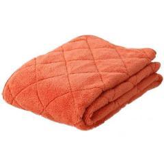 アウトレット 20%OFF 送料無料 あったか 敷きパッド キングサイズ オレンジ ベッドパッド パッド 敷き布団 エムールヒート 吸湿発熱 ヒートウォーム マイクロファイバー 敷パッド パッドシーツ 冬用 ぬくぬく 防寒 もこもこ