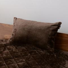15%OFFクーポン対象商品 10%OFF 送料無料 枕カバー ピローケース ブラウン 43×63cm 2枚組 洗える あったか 暖かい 吸湿発熱 冬 冬用 防寒 ピロケース まくらカバー ヒートウォーム マイクロファイバー ボリューム ぬくぬく もこもこ ダニ防止 洗濯機可 クーポンコード:CKJNNWW
