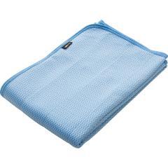【10%OFF】 【送料無料】敷きパッド ダブルサイズ エムールクールEX ひんやり クール 冷感 涼感 ひんやりマット 冷却マット クールマット クールシーツ ベッドパッド 接触冷感 寝具 暑さ対策 夏 ブルー