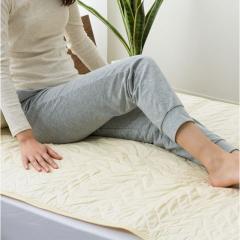 アウトレット 20%OFF 羊毛ベッドパッド セミダブル ウール100% 敷きパッド 夏冬兼用 洗える 洗濯機洗い可 あったか さらさら 湿度調整