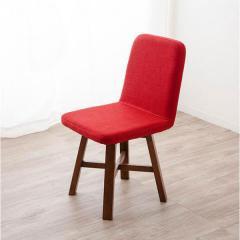 アウトレット 20%OFF 送料無料 ダイニングチェア レッド イス ベンチ チェア 椅子 ダイニング 幅50cm 一人用 木製 ウッドチェア レトロ モダン コンパクト 回転 便利 おしゃれ 北欧 書斎 リビング 子供部屋 一人暮らし 食卓椅子