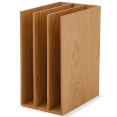 ブックスタンド ファイルスタンド 3連 レタースタンド 本立て 木製 デスク 小物収納 小物収納ケース 小物入れ デスク周り デザイン おしゃれ 書類収納 整理整頓 新生活 一人暮らし 北欧 アッシュ