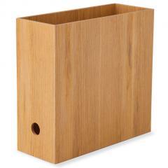 ファイルボックス ボックス 木製 デスク 小物収納 小物収納ケース 小物入れ 卓上収納 デスク周り デザイン おしゃれ 整理整頓 新生活 一人暮らし 北欧 アッシュ