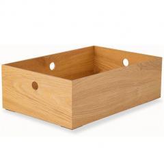 小物入れ ハーフサイズ 収納ボックス ウッドボックス 木製 デスク 小物収納 小物収納ケース 卓上収納 デスク周り デザイン おしゃれ 整理整頓 新生活 一人暮らし 北欧 アッシュ