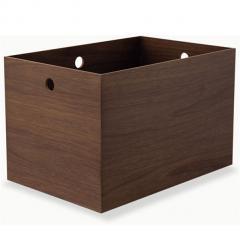 小物入れ フルサイズ 収納ボックス ウッドボックス 木製 デスク 小物収納 小物収納ケース 卓上収納 デスク周り デザイン おしゃれ 整理整頓 新生活 一人暮らし 北欧 ウォールナット