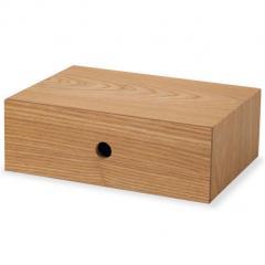 小物入れ 引き出し付き 木製 デスクドローワー デスク 小物収納 小物収納ケース 卓上収納 デスク周り デザイン おしゃれ 整理整頓 新生活 一人暮らし 事務用品 北欧 アッシュ