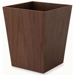 ゴミ箱 角すい型 ダストボックス 屑入れ 木製 インテリア 小物収納 小物収納ケース デスク周り デザイン おしゃれ 整理整頓 新生活 一人暮らし 事務用品 北欧 ウォールナット
