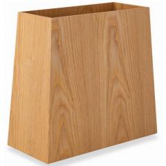 ゴミ箱 台形 ダストボックス 屑入れ 木製 インテリア 小物収納 小物収納ケース デスク周り デザイン おしゃれ 整理整頓 新生活 一人暮らし 事務用品 北欧 アッシュ