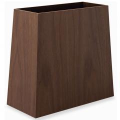 ゴミ箱 台形 ダストボックス 屑入れ 木製 インテリア 小物収納 小物収納ケース デスク周り デザイン おしゃれ 整理整頓 新生活 一人暮らし 事務用品 北欧 ウォールナット
