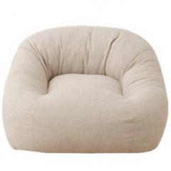 送料無料 一人掛けソファ レギュラーサイズ ベージュ 座椅子 マフィー 日本製 シンプル ワンルーム フロアライフ フロアソファ 北欧 【5%OFFクーポン利用可能】【コード:AC3648T】