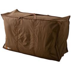 布団セット用収納ケース シングルサイズ 約幅103×奥行き73×高さ50cm ハイスタンダード 持ち手付きで持ち運び楽々 湿気を逃がす通気口 ポリエステル100%の丈夫な作り