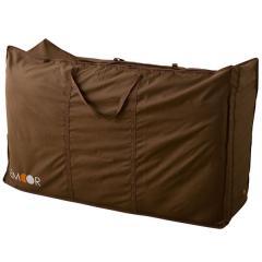 敷布団用収納ケース シングルサイズ 約幅103×奥行き73×高さ33cm ハイスタンダード 持ち手付きで持ち運び楽々 湿気を逃がす通気口 ポリエステル100%の丈夫な作り