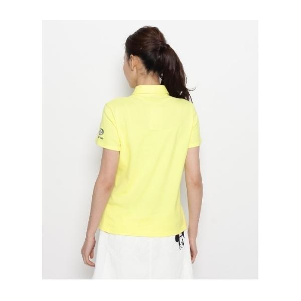 ストレッチカノコ半袖ポロシャツ