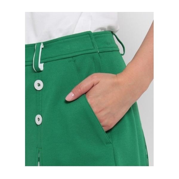 ボーダー切替ボックススカート