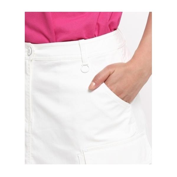ストレッチ多ポケットミニスカート