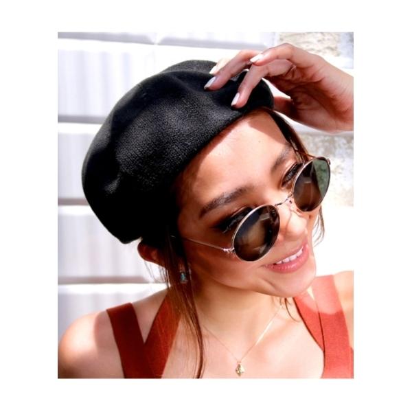 ANAPサマーベレー帽