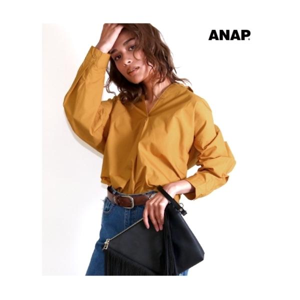 【ANAP】タイプライタースキッパーシャツ