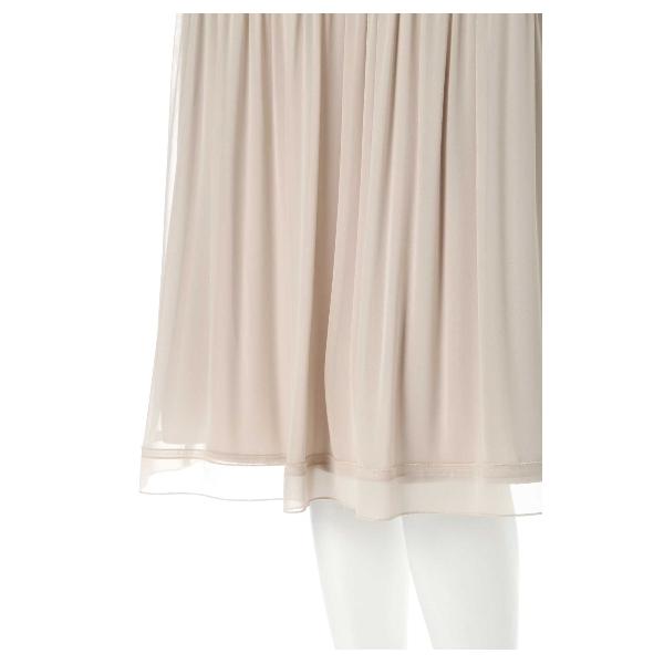 ◆大きいサイズ◆ダブルプリーツシフォンスカート
