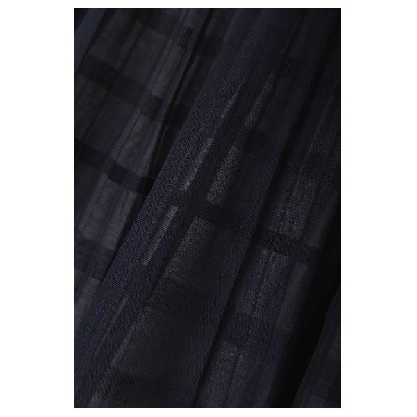 ◆大きいサイズ◆シアーチェックスカート
