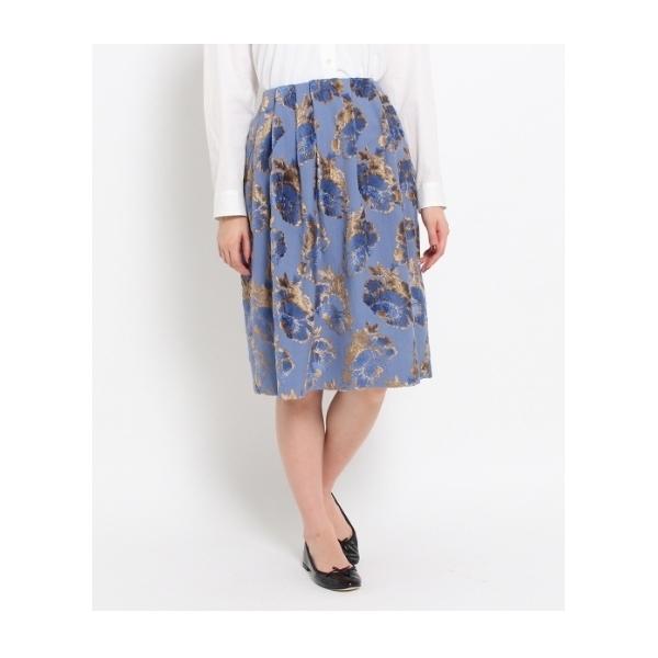 ベルベットジャガードスカート