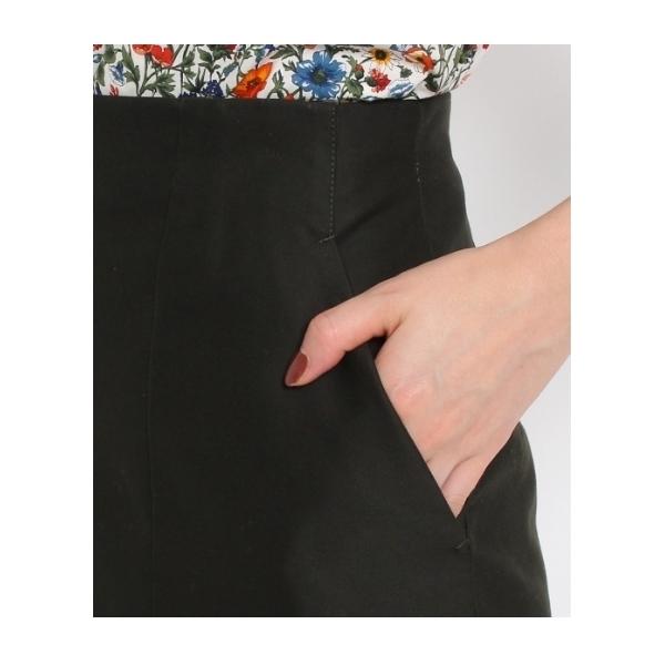 モールスキンハイウエストタイトスカート
