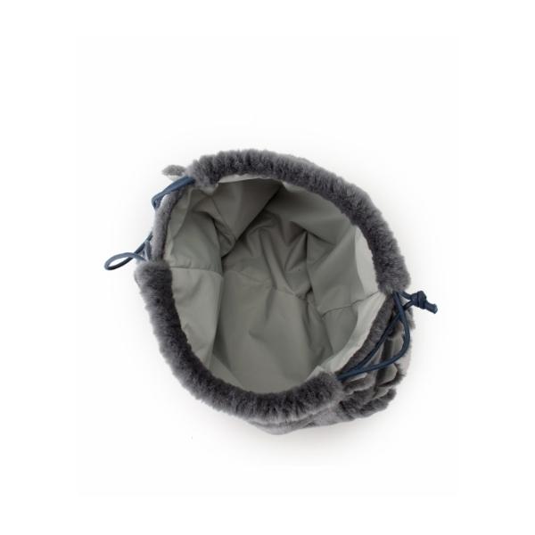 【別注】LUDLOW ファー巾着BAG
