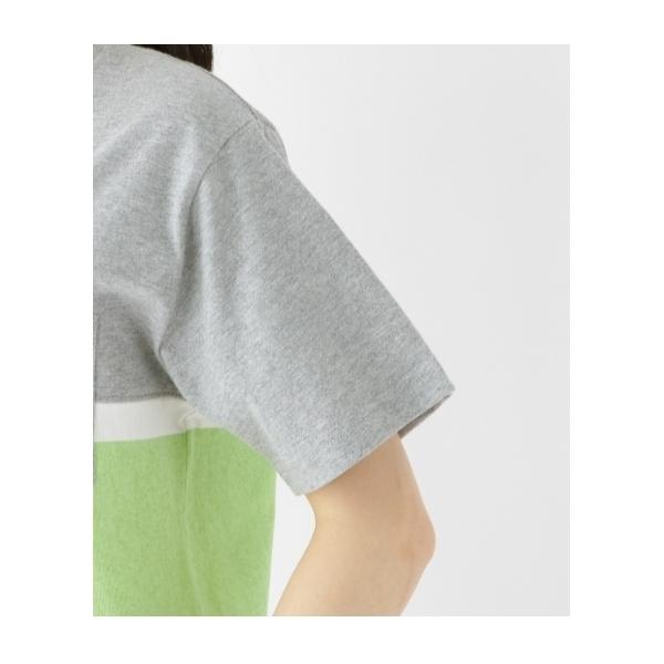Tシャツ 胸切り替え 【WEB限定】14540