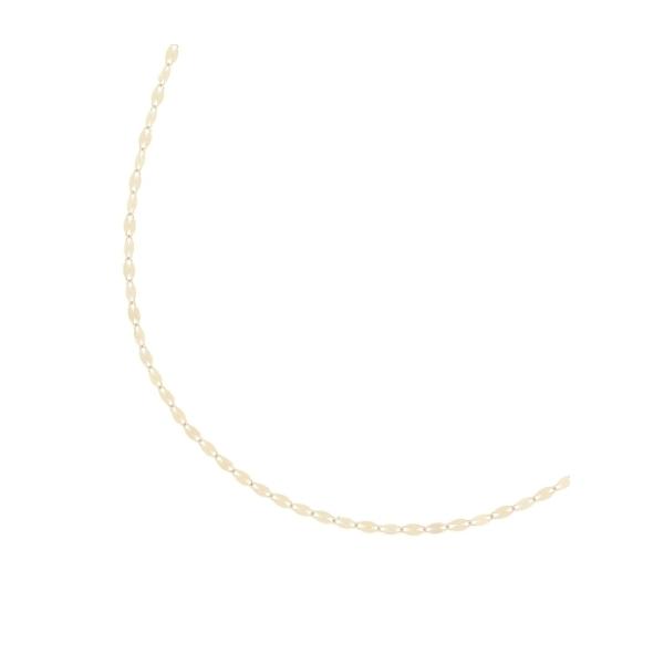 フラワークロスチェーン ロングネックレス(65cm)