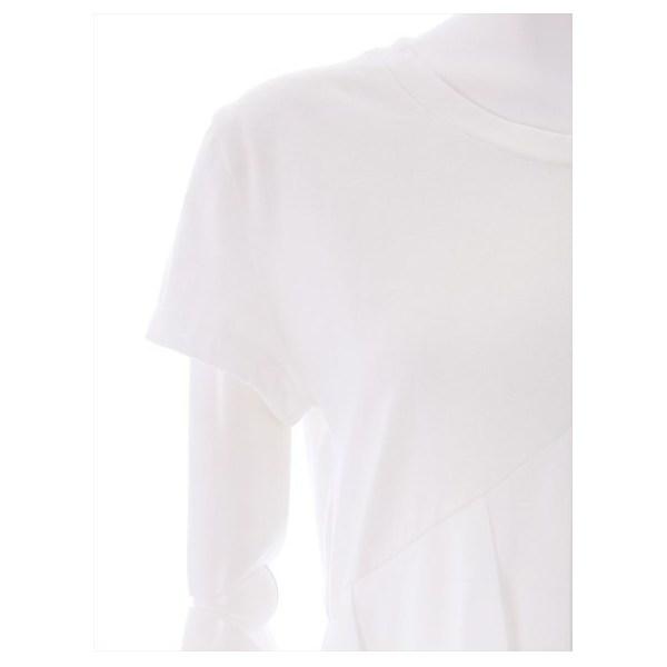 斜めフリル半袖カットソー