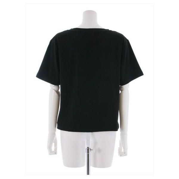 チェーン刺繍Tシャツ