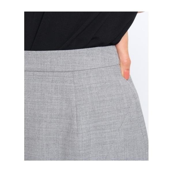 [L]サイドスリットタイトスカート