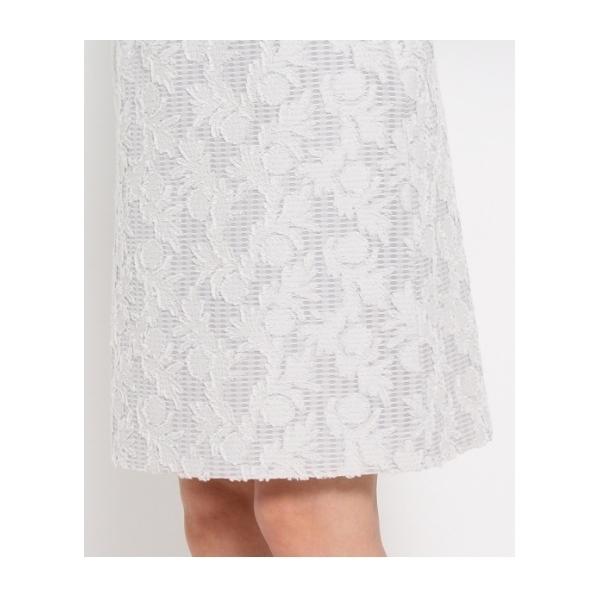 3Dリーフカットスカート