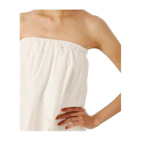 裾刺繍コンビネゾン