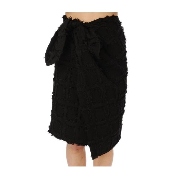 ウエストリボン巻きスカート
